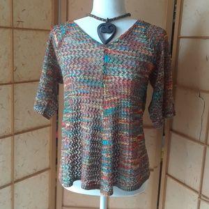 CB rainbow blouse